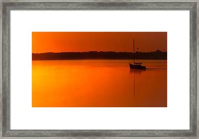 Into The Light Framed Print by Karen Wiles