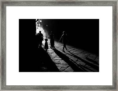 Into The Sun Framed Print by Simone Buda