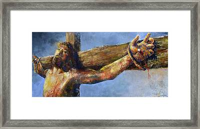 Into Your Hands Framed Print by Andrew King