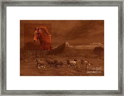 Intrepid Spirit Framed Print by Corey Ford