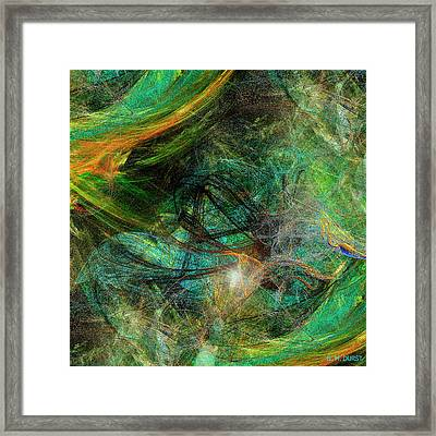 Intricate Love Framed Print by Michael Durst