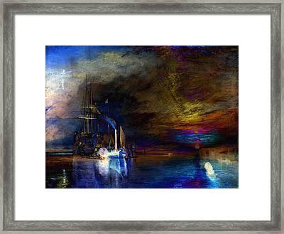 Inv Blend 19 Turner Framed Print by David Bridburg