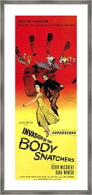 Invasion Of The Body Snatchers, Center Framed Print by Everett