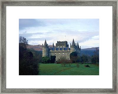 Inveraray Castle Framed Print by Kenneth Campbell