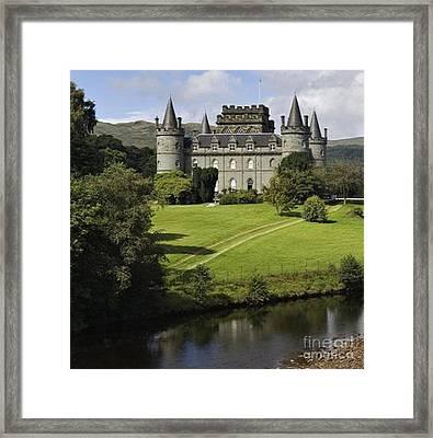 Inveraray Castle Framed Print by Rod Jellison