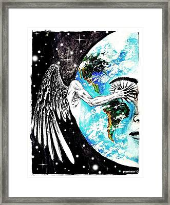 Invisible Layer Framed Print by Paulo Zerbato