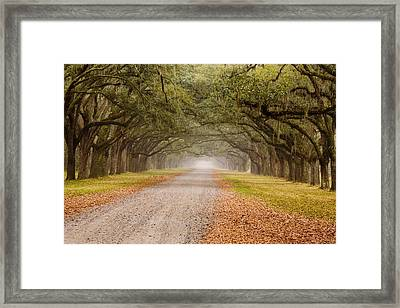 Inviting Framed Print by Eggers   Photography