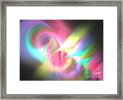 Ionosphere Framed Print by Kim Sy Ok