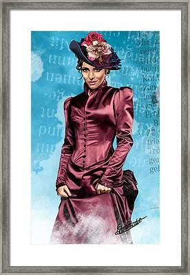 Irene Framed Print by Chris Pastel