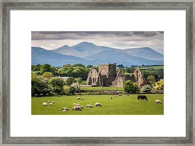Irish Country Side Framed Print by Pierre Leclerc Photography