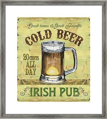 Irish Pub Framed Print by Debbie DeWitt