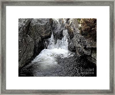 Irish Waterfall Framed Print by Patrick J Murphy