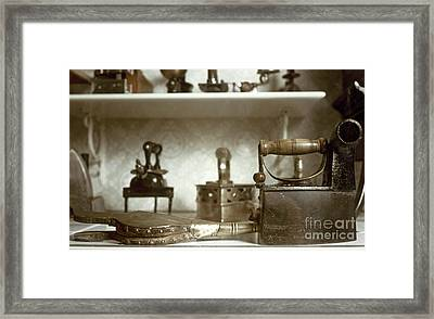 Iron, 19th Century Framed Print by Granger