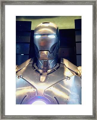 Iron Man 1 Framed Print by Micah May