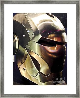 Iron Man 14 Framed Print by Micah May