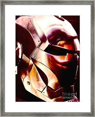 Iron Man 15 Framed Print by Micah May