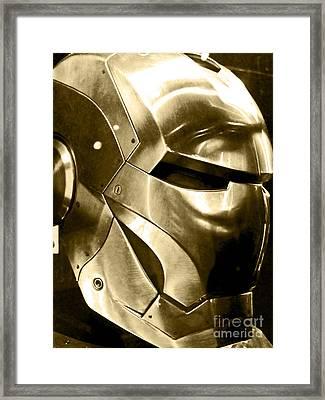 Iron Man 18 Framed Print by Micah May