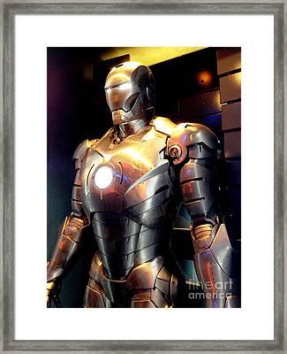 Iron Man 2 Framed Print by Micah May