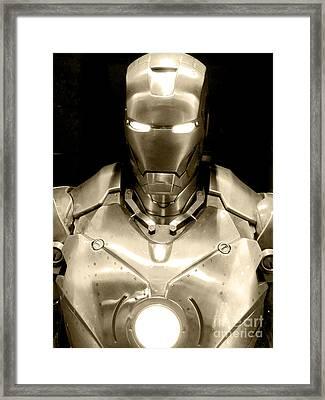 Iron Man 4 Framed Print by Micah May