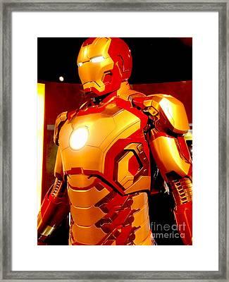 Iron Man 6 Framed Print by Micah May