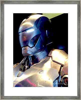 Iron Man 9 Framed Print by Micah May