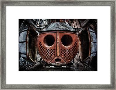 Iron Man Framed Print by David Van Bael