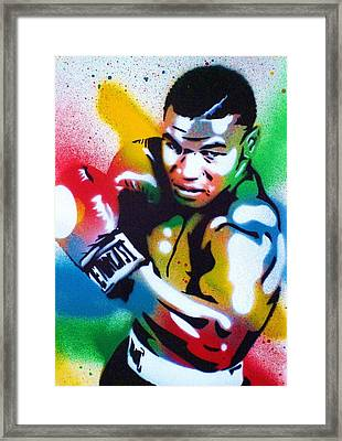 Iron Mike Framed Print by Leon Keay