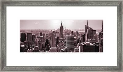 Iron Scape Framed Print by Az Jackson