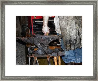 Iron Works  Framed Print by Steven  Digman