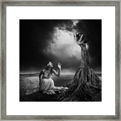 Is There Anybody Out There? Framed Print by Erik Brede