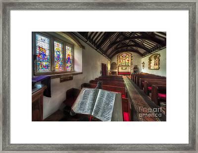 Isaiah 59 Framed Print by Adrian Evans