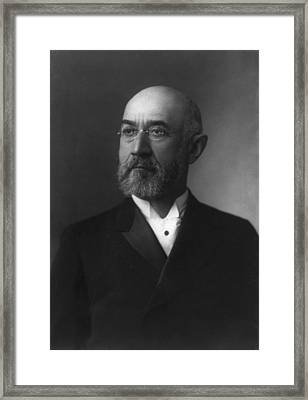 Isidor Straus 1845-1912 Co-owner Framed Print by Everett