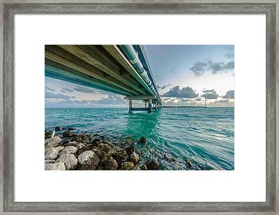 Islamorada Crossing Framed Print by Dan Vidal