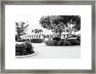 Island Inn Framed Print by Scott Pellegrin
