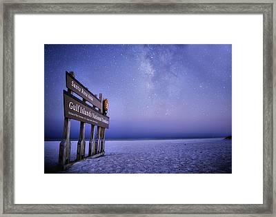 Island Nights Framed Print by JC Findley