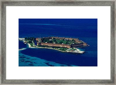 Island Prison Framed Print by Skip Willits
