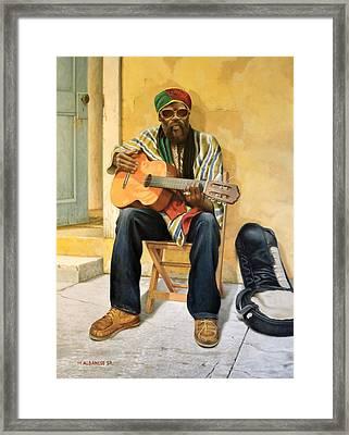 Caribbean Soul Framed Print by William Albanese Sr