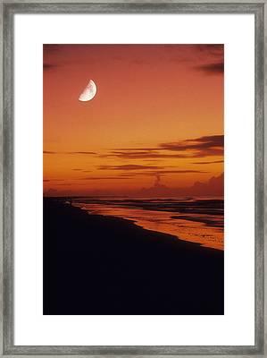 Isle Of Dawns Framed Print by Gerard Fritz