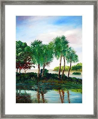 Isle Of Palms Framed Print by Phil Burton