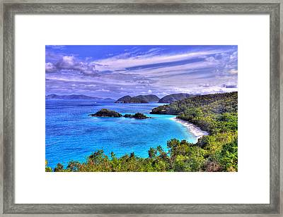 Isle Of Sands Framed Print by Scott Mahon