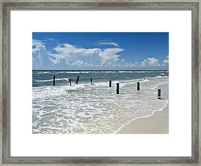 Isn't Life Wonderful? Framed Print by Melanie Viola