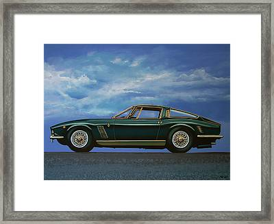 Iso Grifo Gl 1963 Painting Framed Print by Paul Meijering