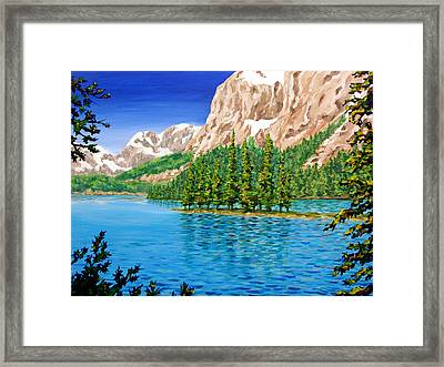 Isolation Framed Print by Patrick Parker
