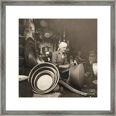 Israel: Metal Workers, 1938 Framed Print by Granger