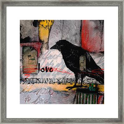 It Hurts Too Bad Framed Print by Laura  Lein-Svencner