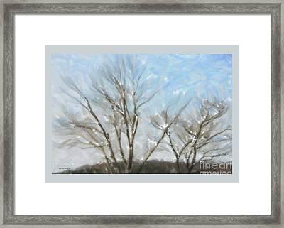It Is Cold Outside Framed Print by Gerlinde Keating - Keating Associates Inc