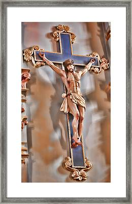 It Is Finished - Mission San Jose Framed Print by Stephen Stookey