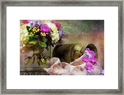 Might As Well Be May Framed Print by Diana Angstadt