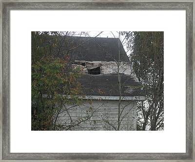It Only Matters When It Rains Framed Print by Paula Andrea Pyle