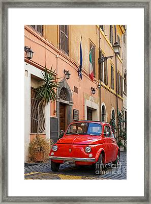 Italia 500 Framed Print by Richard Thomas